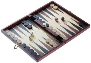 Backgammon-Koffer